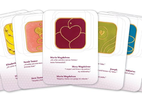 The symbols of Mary Magdalene and her Companions. 21 energized symbol cards