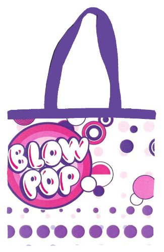 silver-buffalo-tr7701t-tootsie-roll-blow-pop-14-by-13-inch-canvas-tote-bag-multi-color