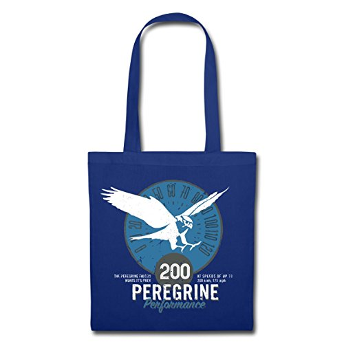 Spreadshirt Birds Blue Planet Peregrine Royal Tote Animal Bag Facts pwpqxC4T6