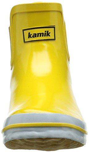Goma SHARONLO caño de Goma Botas Yel bajo Kamik y Amarillo de Forradas yellow de Mujer Ftwvdq4