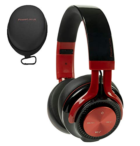 PowerLocus P3 Bluetooth Headphones Over-Ear, [40h Playtime, Bluetooth 5.0] Wireless Hi-Fi Stereo Headphone, Foldable…