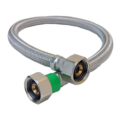LASCO 10-0421 1/2-Inch IPS by 1/2-Inch IPS by 20-Inch Water Supply Connector