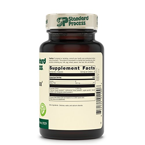 Standard Process - Gastro-Fiber - Dietary Fiber Supplement, Supports Digestive System, Healthy Intestinal Environment, Cleanses Lower GI Tract, Gluten Free and Vegetarian - 150 Capsules by Standard Process (Image #2)