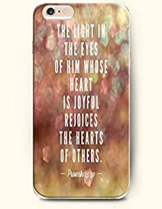 For SamSung Galaxy S4 Case For SamSung Galaxy S4 Case Cover Hard Case **NEW** Case with the of the light in the eyes of him whose heart is joyfull rejoices the hearts of others proverbs 15:30 - Case for For SamSung Galaxy S4 Case Cover (2015 ) Verizon, AT&T Sprint, T-mobile