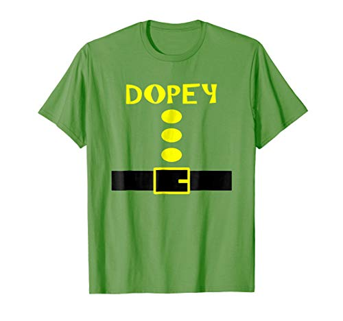 Dopey Dwarf Costume Shirt Funny Halloween Gifts]()