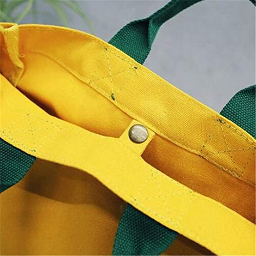 Joker GWQGZ en Sac Casual Bandoulière La Yellow Toile pour Mode À Unique Femme Sac Vert À O0wdq0r