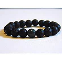 Essential Oil Aromatherapy Diffuser Bracelet made with Lava Rock