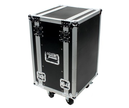"16 Space (16U) ATA Rack Effects Road Case (12"" Deep) - Also For Wireless Systems"
