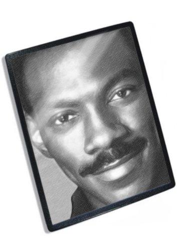EDDIE MURPHY - Original Art Mouse Mat (Signed by the Artist) #js004 - Eddie Murphy Actor