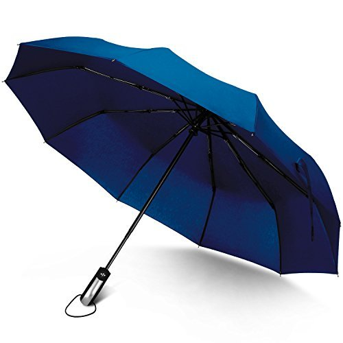 Rainlax-Travel-Umbrella-Unbreakable-Lightweight-10-Ribs-Automatic-Compact-Windproof-Canopy-Umbrellas-for-MenWomen-One-Handed-Operation