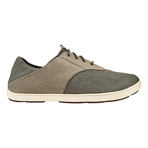 OLUKAI Men's Nohea Moku Shoes, Silt/Clay, 11 ()