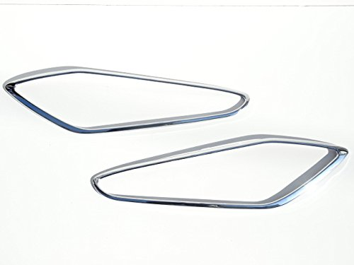 マセラティ グラントゥーリズモ ( 07y) クロームメッキ ヘッドライト ランプ リング リム ガーニッシュ B01N0KLTVO