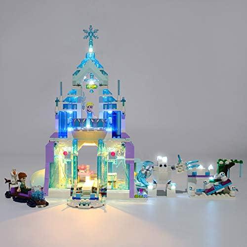Led Light Kit voor Magical Ice Palace Lego 41148 Disney Frozen Elsa's (niet inbegrepen The Model)