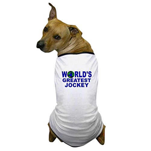 [CafePress - World's Greatest Jockey Dog T-Shirt - Dog T-Shirt, Pet Clothing, Funny Dog Costume] (Kentucky Derby Costumes For Dogs)
