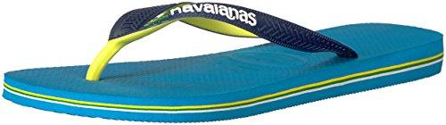 Havaianas Flip Flop Sandals, Turquoise, 45/46 BR (13 M US Men's)