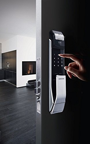 Samsung Digital Door Lock Shs P718lbk En Fingerprint Push