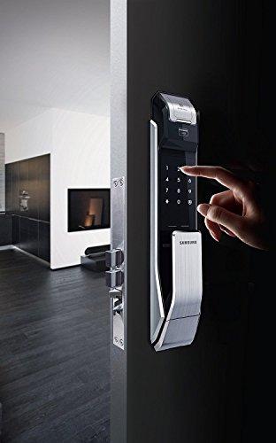 Samsung Digital Door Lock Shs P718lbk En Fingerprint Push