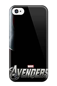 For VanessaKSchmidt Iphone Protective Case, High Quality For Iphone 4/4s The Avengers 111 Skin Case Cover