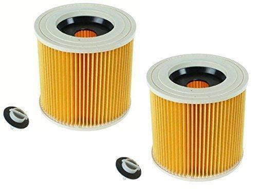 quailitas cartuccia filtro di ricambio per Karcher WD2200WD2240A2200VC6200Wet & Dry aspirapolvere, confrontare a parte # KAR64145520(confezione da