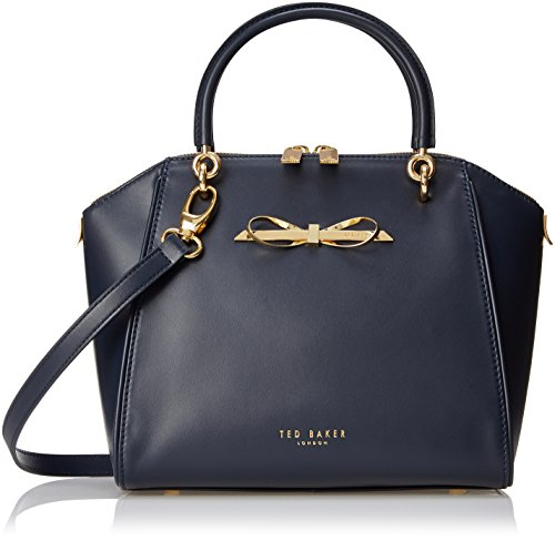 3ca6f0256 Ted Baker Lailey Metal Slim Bow Leather SML Tote Top Handle Bag