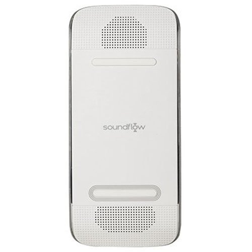 Acoustic Research SP40 Soundflow Soundboard, Wirelessly Play Music From Smartphone with External Speaker (White) by Acoustic Research B00KRFK88M