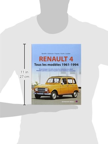 renault 4 tous les modeles 1962 1994 voitures youngtimers. Black Bedroom Furniture Sets. Home Design Ideas