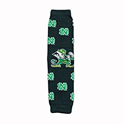 Licensed Notre Dame Baby & Kids Leg & Arm Warmers LRG Logo