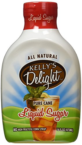 - Kelly's Delight: All Natural Liquid Cane Sugar 16oz (473ml)