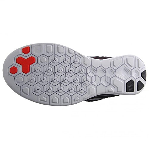Nike  Air Max Lunar 1 - Zapatillas de running para Hombre Black / Bright Crimson-Anthracite-Metallic Silver