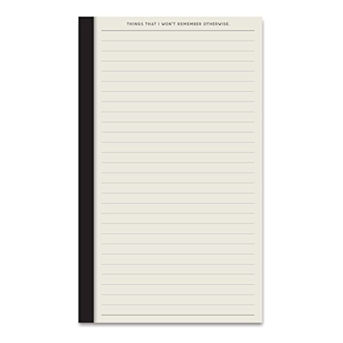 Easy, Tiger Perforated Pocket Notepad, 50 Pages, Lined (4.5 x 7.5) by Easy Tiger (Image #1)