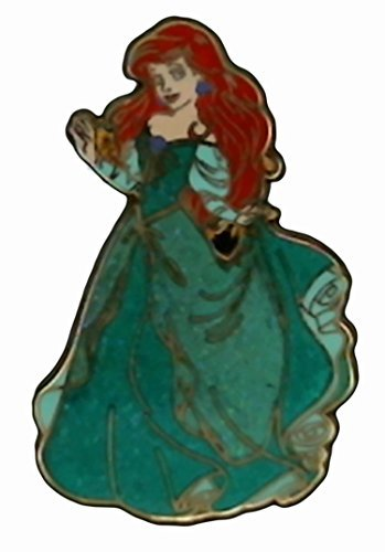 Disney Pin #93361: Princess Ariel Glitter Dress (The Little Mermaid)