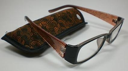 Moderna lettura occhiali da lettura l'aiuto Tessuto-Custodia