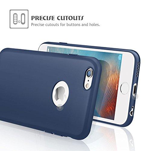 custodia iphone 6s blu