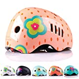 Toys : Naranja Minimalista Kids, Toddler and Infant Bike Helmet for Ages 3-14 from Lightweight and Impact Resistant PC Outer Shell Material and CPSC Safety Certified - Ideal for Boys and Girls