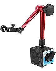 KUNSE Universal Flexible Base magnética Titular Soporte Herramienta para dial indicador Altura de Prueba 350 mm
