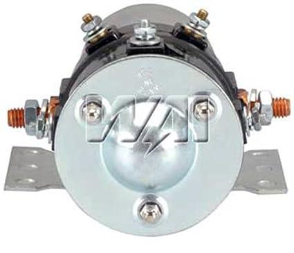 amazon com: series parallel solenoid relay switch 12 24 volt caterpillar  cummins delco white: automotive