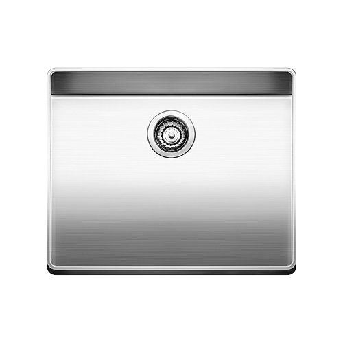 Price comparison product image Blanco 519842 Attika 20-Inch Elevated Rim Single Bowl Kitchen Sink,  Small,  Stainless Steel