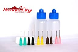1 oz Applicator bottles – Qty 2, 10 tips
