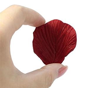 ❀❀Fake Rose Petals,500Pc Silk Artificial Flower Rose Petals Wedding Party Decorations Bulk Supplies By Orangeskycn 2