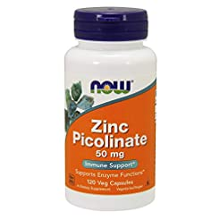 NOW Supplements, Zinc Picolinate 50 mg, ...