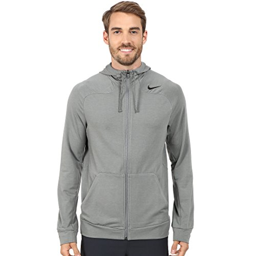 Nike Dri-Fit Touch Fleece Full-Zip Training Hoodie Mens Style: 644293-037 Size: L