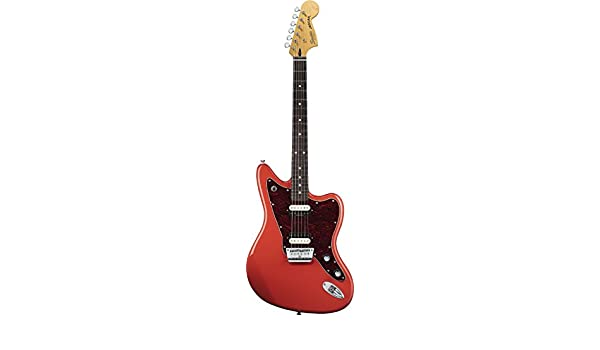 Guitarra eléctrica Fender Squier Jaguar Vintage Modified HH fiesta Red: Amazon.es: Instrumentos musicales