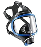 Dräger X-plore 6300Full-Face Respirator Mask | NIOSH Certified | Eye and Respiratory Protection | Anti-Fog | 180° Field of View | Universal Size