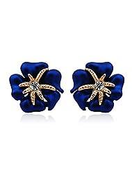 Richy-Glory - Vintage earrings Women's Austrian Zircon Crystal Rhinestone