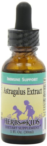 Herbs for Kids Astragalus Extract Liquid, 1 Ounce (Herbal Extract Astragalus Liquid)