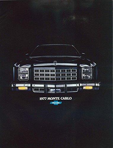 1977 Chevrolet Monte Carlo sales brochure