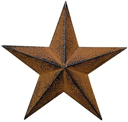 Yumbor Rainbow Handcrafts Rustic Metal 3d Barn Star Patriotic Wall Decor Vintage Wall Star Country Primitive Home Decor July 4th Country Americana Patriotic Wall Ornament Outdoor Decoration 8 Inches Amazon Sg Home