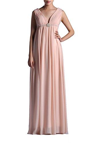 AdoronaDamen Kleid Rosa - Babyrosa