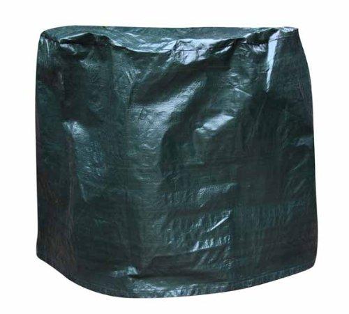 Gardeco COVER-FB80 - Funda para estufa de leña u hogar exterior con diámetro de hasta 80 cm, color verde: Amazon.es: Jardín