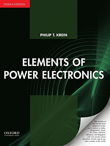 Elements Of Power Electronics: Indian Edition]()